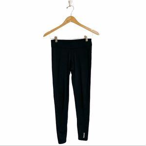 Reebok speed wick black full length leggings small